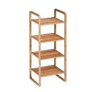 Honey-Can-Do 4-Tier Bamboo Rack