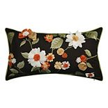 Edie @ Home Dimensional Indoor & Outdoor Delightful Dahlia Throw Pillow