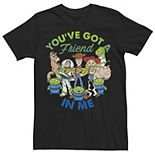 Men Disney / Pixar Toy Story Cartoon Group Shot Tee