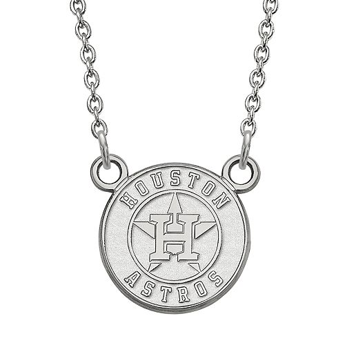 LogoArt 14K Gold Houston Astros Pendant Necklace