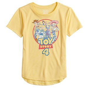 Girls 7-16 & Plus Size Disney / Pixar Toy Story 4 Circle Logo Graphic Tee