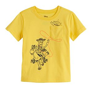 Disney / Pixar Toy Story Toddler Boy Woody Pocket Tee by Jumping Beans®