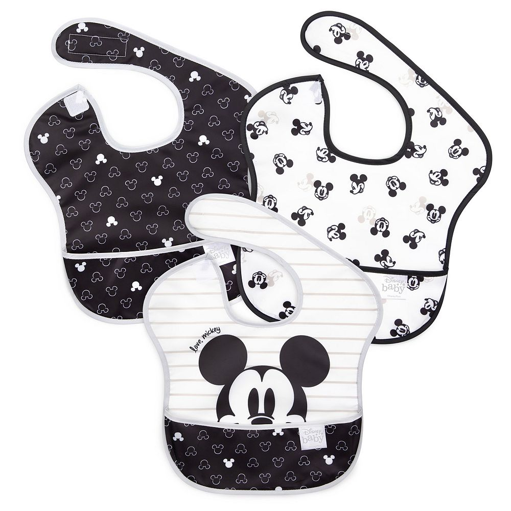 Disney's Mickey Mouse Love Mickey SuperBib 3-Pack by Bumkins
