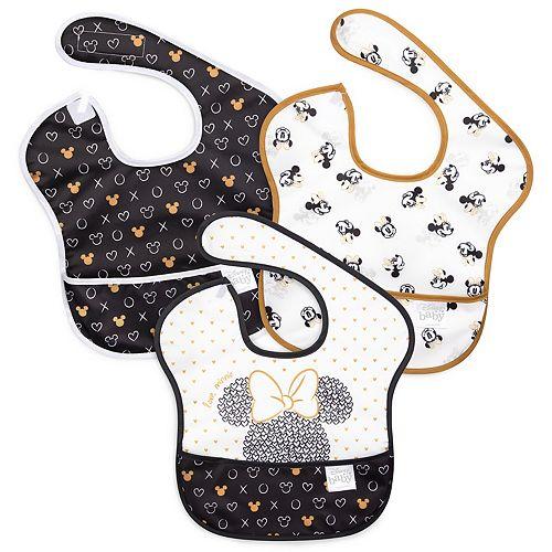 Disney's Minnie Mouse Love Minnie SuperBib 3-Pack by Bumkins