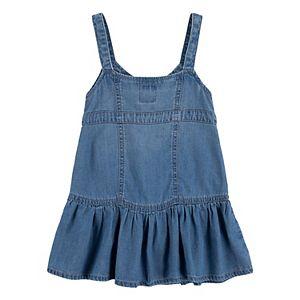 Toddler Girl Levi's® Sleeveless Lightweight Denim Dress