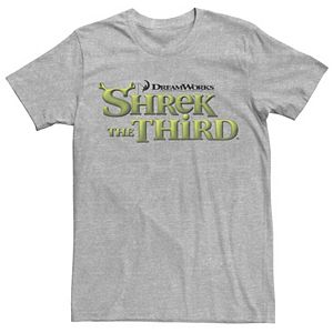 Men's Shrek The Third DreamWorks Ogre Title Logo Tee