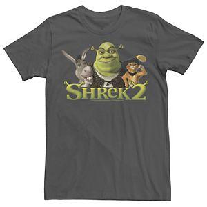 Men's Shrek 2 Donkey & Puss In Boots Best Friends Tee