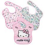 Baby Girl Bumkins Hello Kitty SuperBib (3-pack)