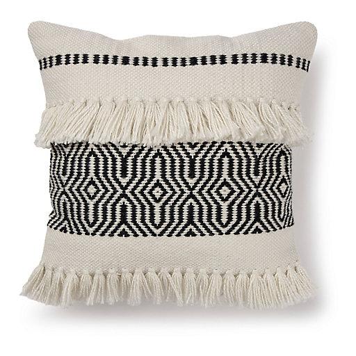 Black Outdoor Throw Pillows - Decorative Pillows & Chair Pads