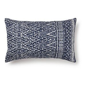 Sonoma Goods For Life Outdoor Indoor Oversized Flanged Throw Pillow