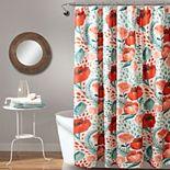 Lush Decor Poppy Garden Shower Curtain