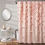 Lush Decor Riley Shower Curtain