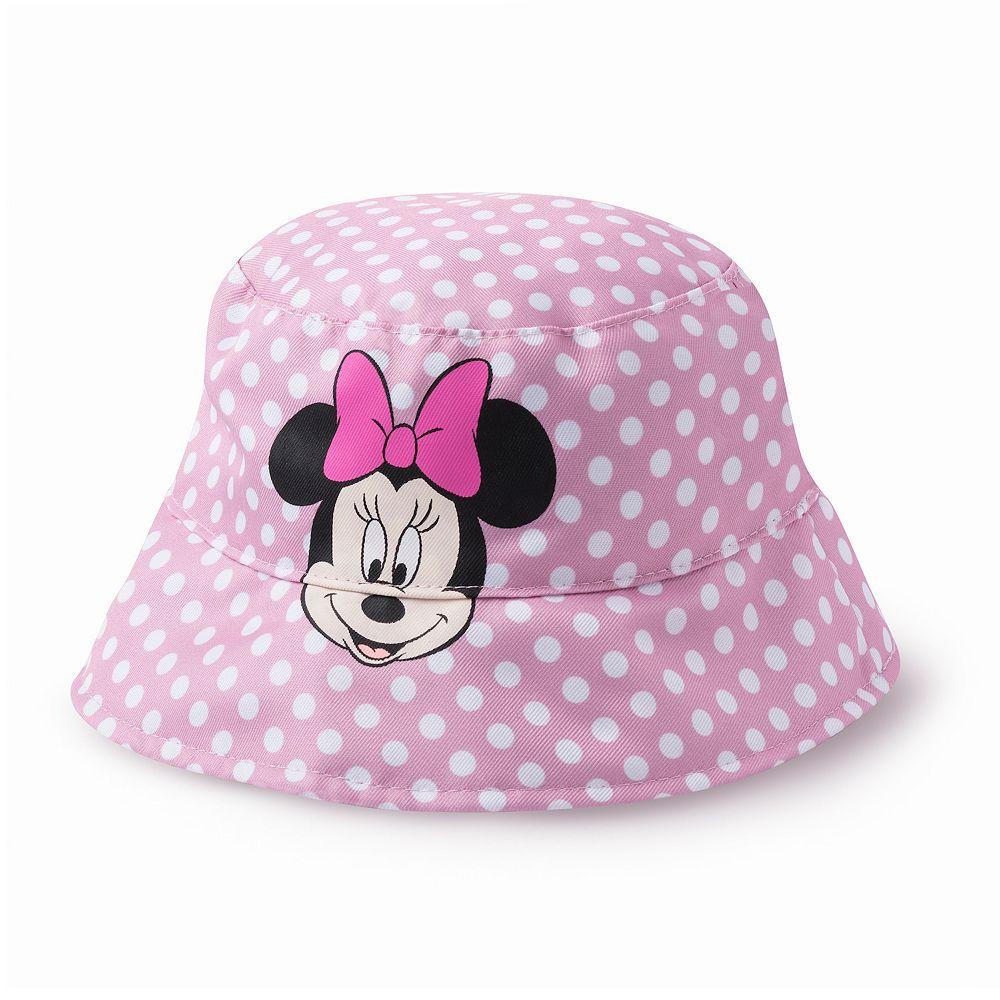 Disney's Minnie Mouse Toddler Girl Polka Dot Bucket Hat