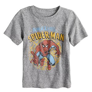 Baby Boy Jumping Beans® Marvel The Amazing Spider-Man Heathered Graphic Tee