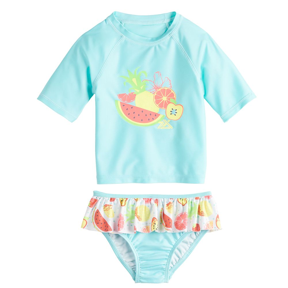 Toddler Girl ZeroXposur Juice Bar 2-Piece Swimsuit Set