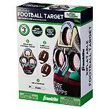 Franklin Kids Inflatable 3-Hole Football Target with 2 Footballs