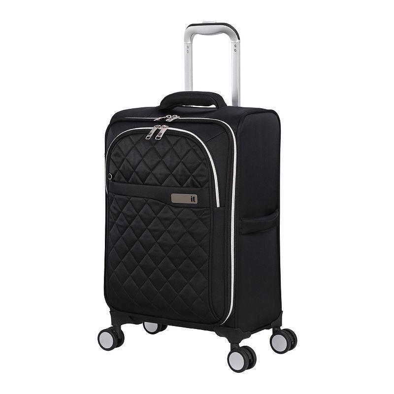 it luggage Admire Softside Spinner Luggage, Black, 32 INCH