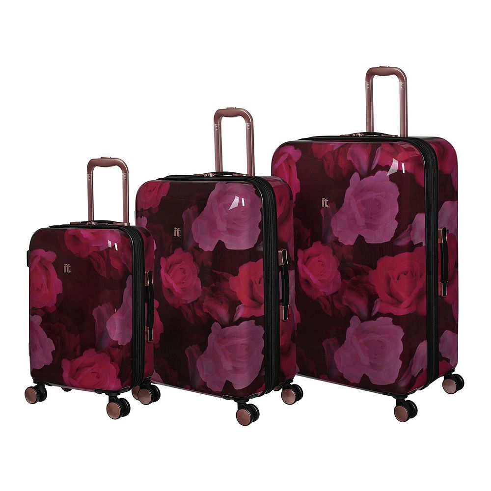 it luggage Sheen Hardside 3-Piece Spinner Luggage Set