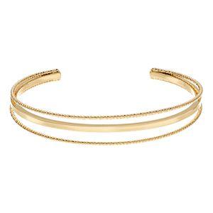 LC Lauren Conrad Minimalist Cuff Bracelet