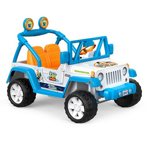 Disney's Pixar Toy Story Jeep® Wrangler by Power Wheels®