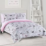 The Big One® Kids Reversible Katie Kittens Comforter Set with Sheets