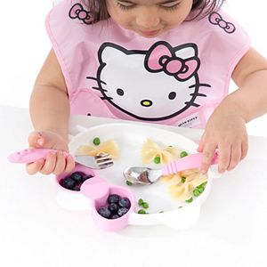 Toddler Girl Bumkins Hello Kitty Silicone Grip Dish