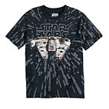 Boys 8-20 Star Wars Millennium Falcon Cockpit Graphic Tee