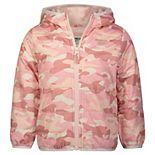 Toddler Girl OshKosh B'gosh® Camo Fleece Lined Coat