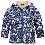 Toddler Girl Carter's Midweight Unicorn Floral Jacket
