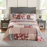 Croft & Barrow® Patchwork Bedspread or Sham