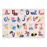 Eric Carle Elementary Animal Alphabet Kids Area Rug