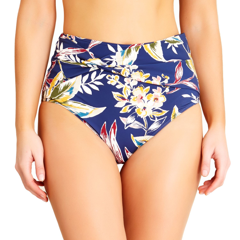 Catalina Womens High Waist Bikini Bottom Bikini Bottoms