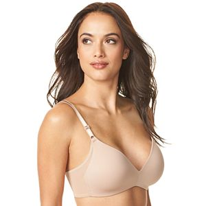 Warner's No Side Effects Mesh Wing Wire Free Contour Bra RM3481A