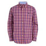 Boys 4-20 Chaps Long Sleeve Woven Shirt