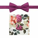 Men's Apt. 9® Pre-Tied Prom Bow Tie & Pocket Square