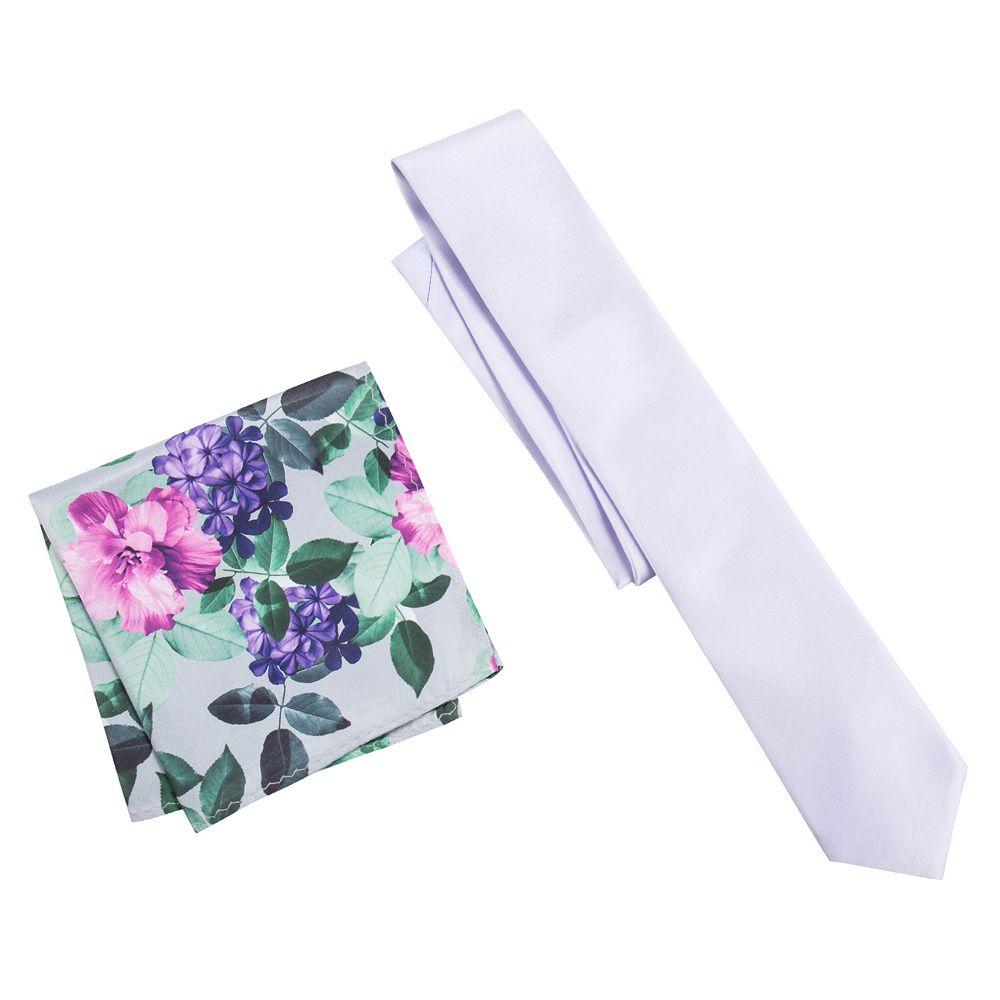 Men's Apt. 9® Skinny Prom Tie & Pocket Square