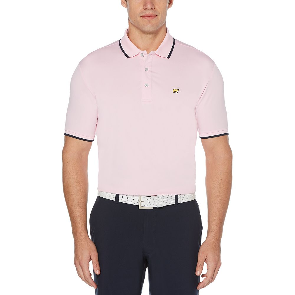 Men's Jack Nicklaus Driflow Regular-Fit Solid Performance Golf Polo