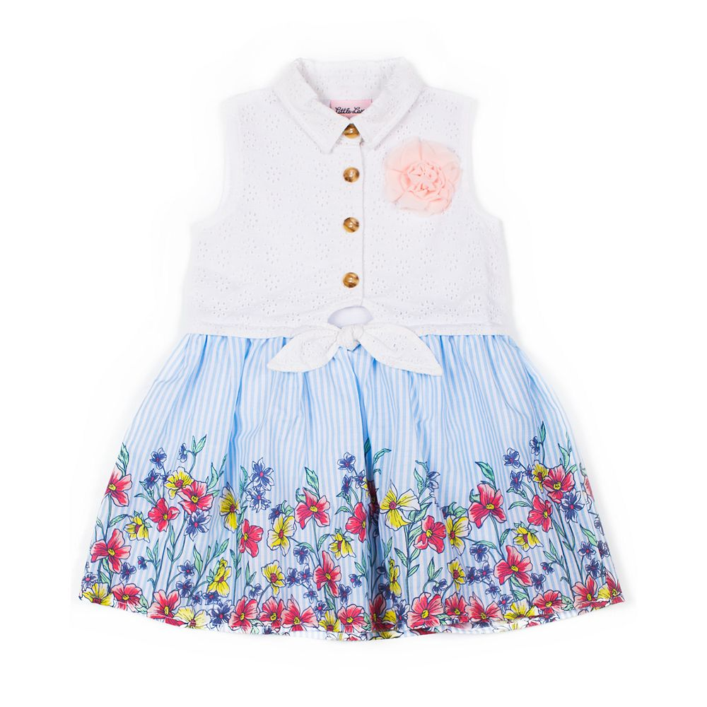 Toddler Girl Little Lass Floral Dress