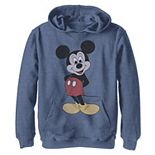 Disney's Mickey Mouse Boys 8-20 Vintage Mickey Pose Hoodie