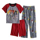 Boys 6-12 Star Wars Ship Attack 3-Piece Pajama Set