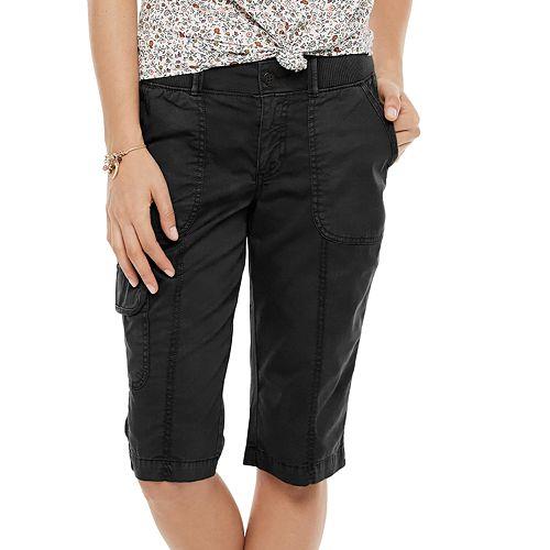 Women's SONOMA Goods for Life® Utility Skimmer Shorts