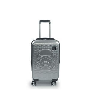 FUL Star Wars: Storm Trooper Embossed 21-Inch Hardside Spinner Carry-On Luggage