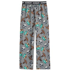 Boys 4-16 Minecraft Crossbow Foe Sleep Pants
