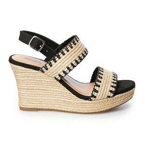 SONOMA Goods for Life® Desirable Women's Wedge Sandals