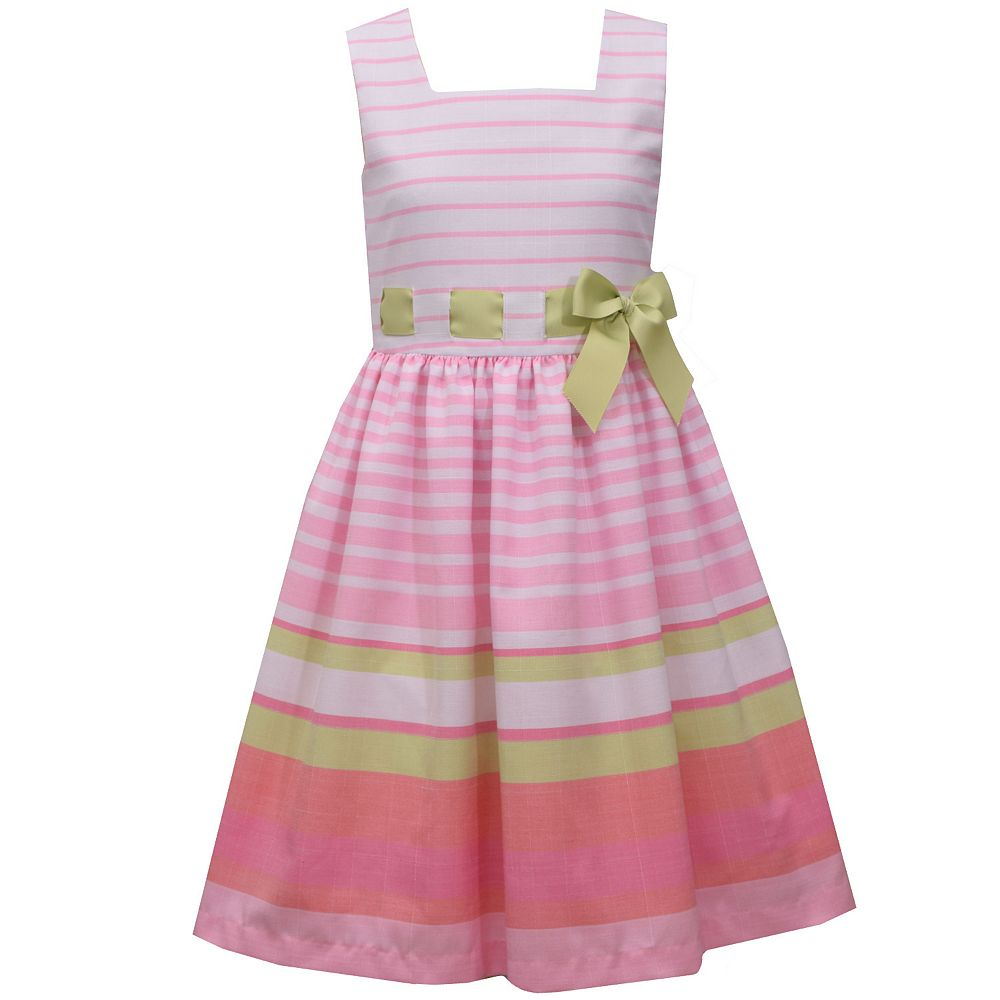 Girls 7-16 Bonnie Jean Striped Dress