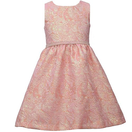 Girls 7-16 Bonnie Jean Paisley Jacquard Dress