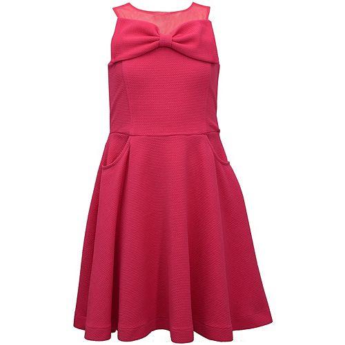Girls 7-16 Bonnie Jean Bow Dress