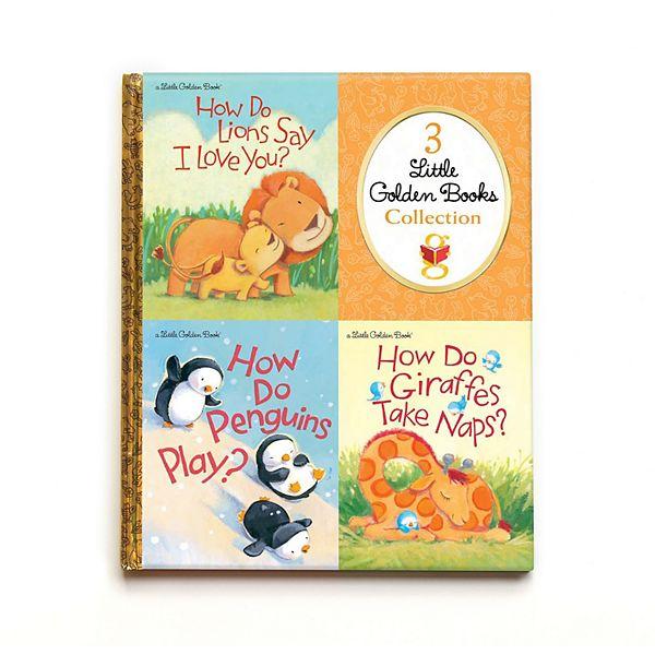 Kohl S Cares Yottoy 3 Little Golden Books How Do Series