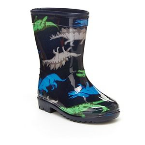 Carter's Dinosaur Toddler Boys' Water Resistant Rain Boots
