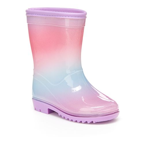 Carter's Sirena Toddler Girls' Water Resistant Rain Boots